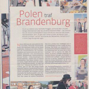 Polen Traf Brandenburg 1