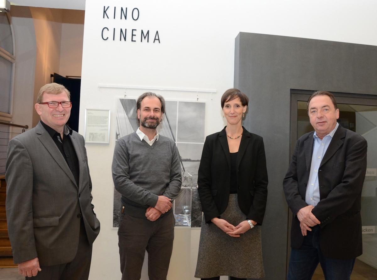 Hartmut Pirl, Jan Hoffman, Birte Enzenberger Und Michael Erbach (v.l./Foto: Gero Schreier)